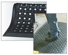 COMFORT FLOW & SCRAPE ANTI-FATIGUE MATTING
